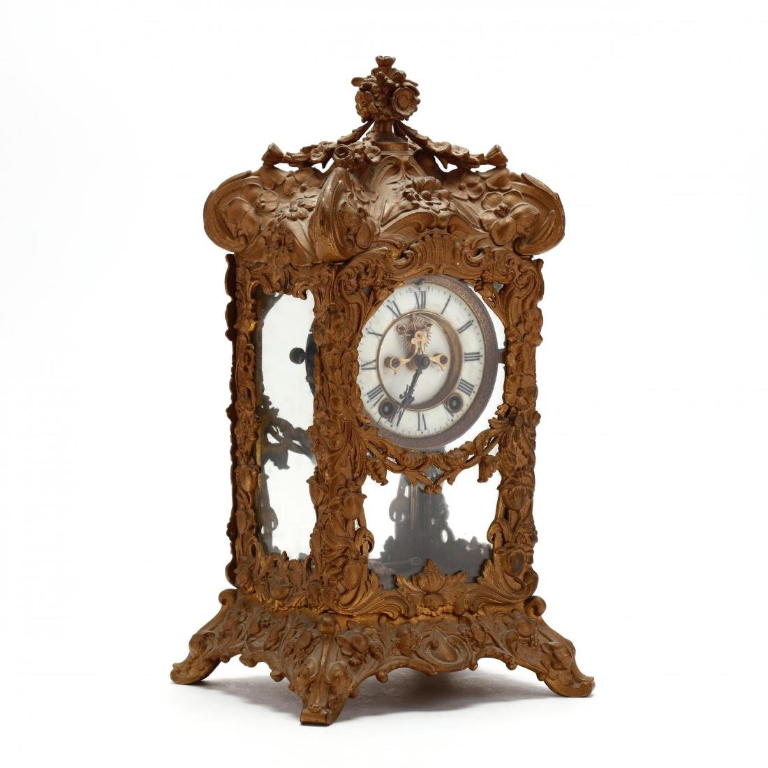 Ansonia Art Nouveau Bracket Clock