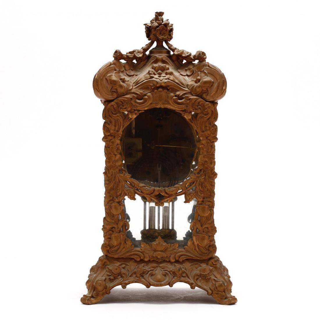 Ansonia Art Nouveau Bracket Clock - 3