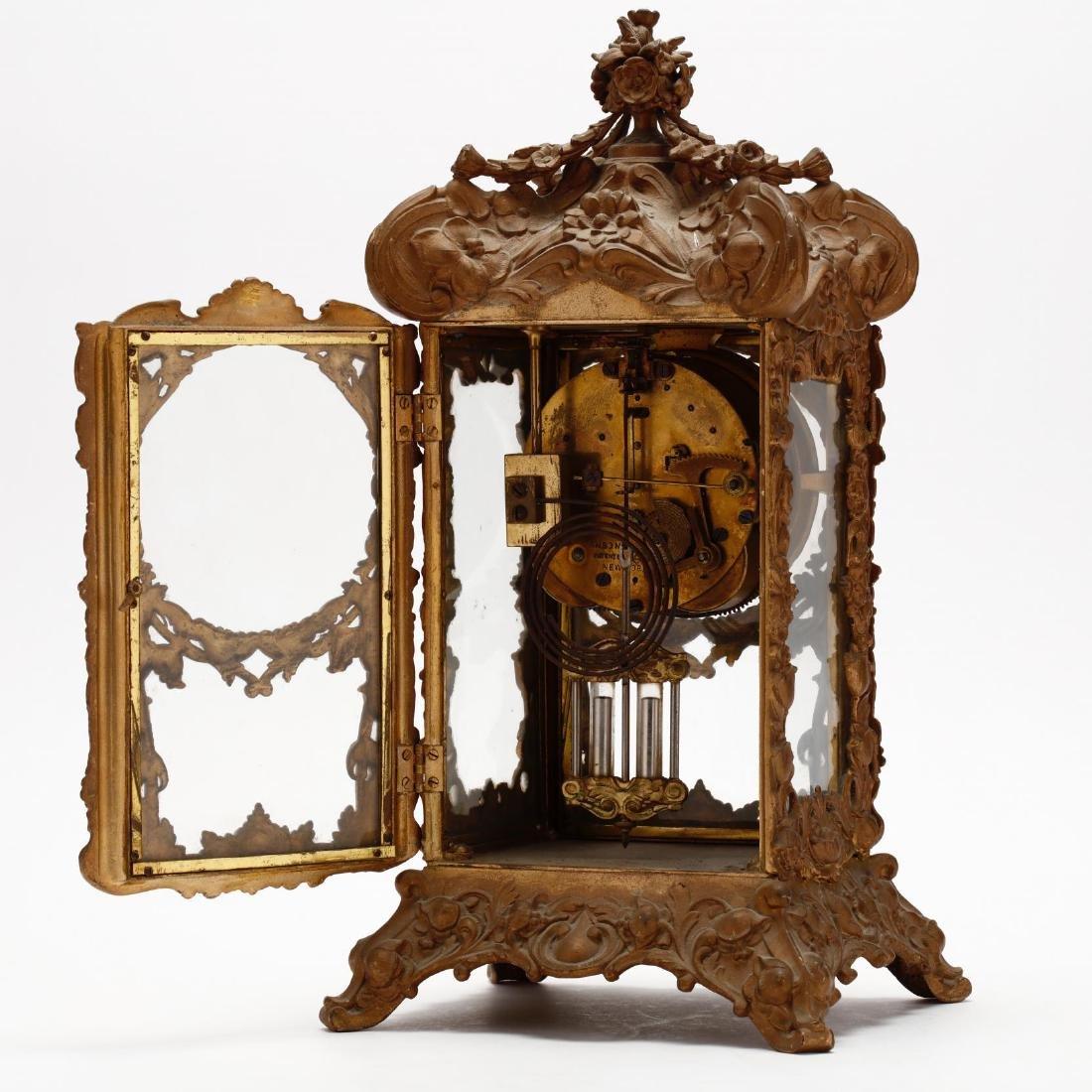 Ansonia Art Nouveau Bracket Clock - 4
