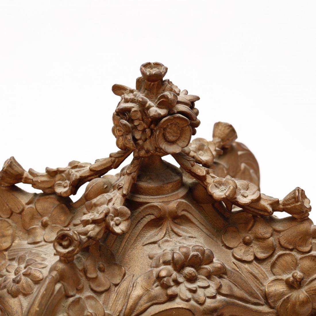 Ansonia Art Nouveau Bracket Clock - 6