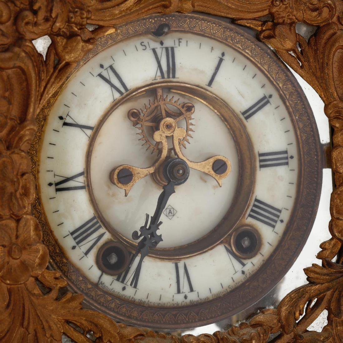 Ansonia Art Nouveau Bracket Clock - 7