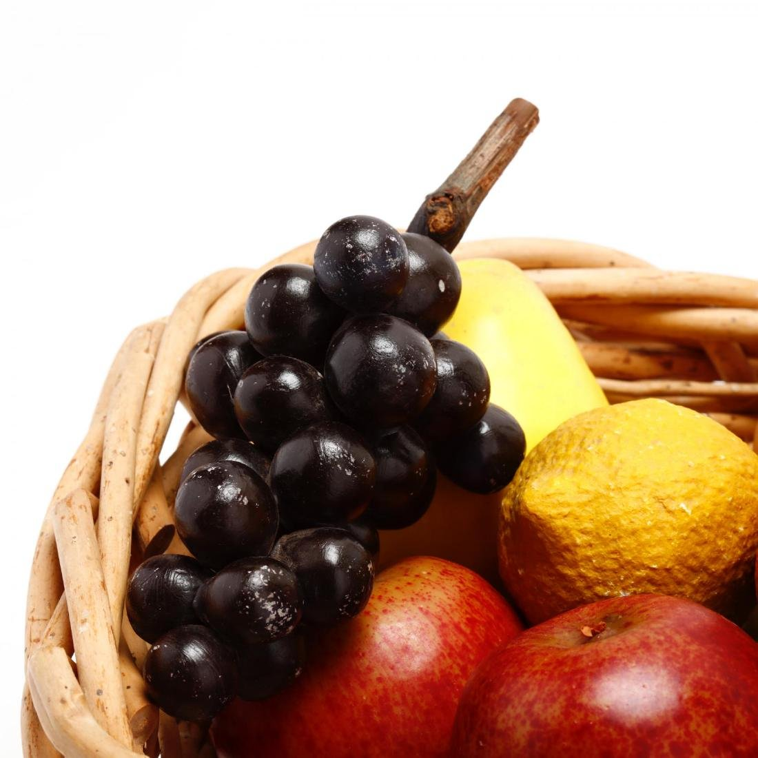 Stone and Decorative Fruit Grouping - 7