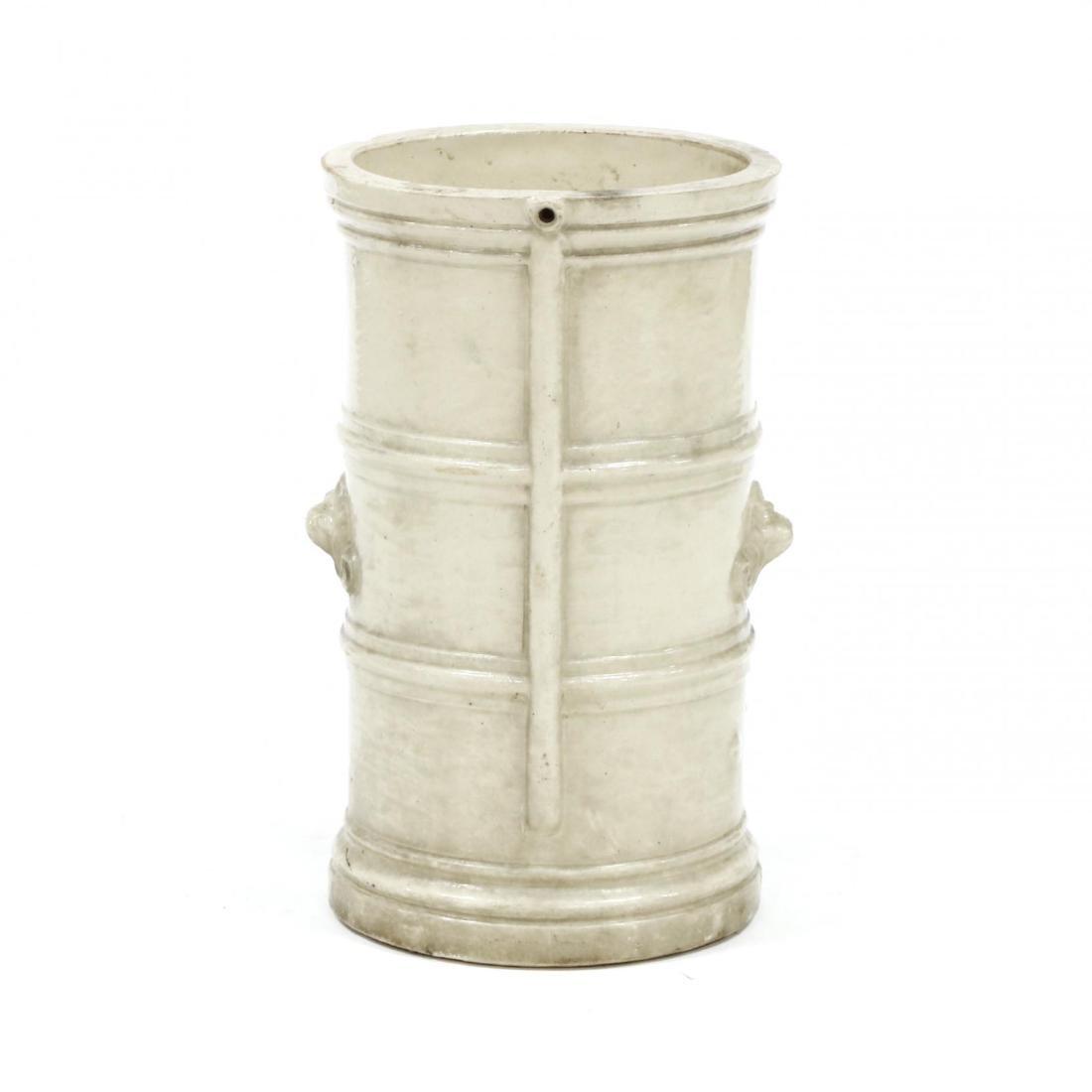 G. Cheavins, Antique English Stoneware Water Filter - 3