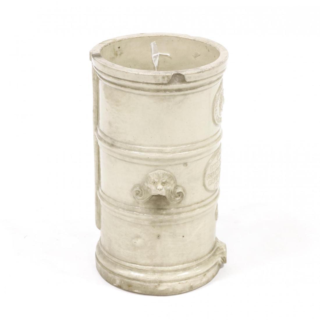 G. Cheavins, Antique English Stoneware Water Filter - 4