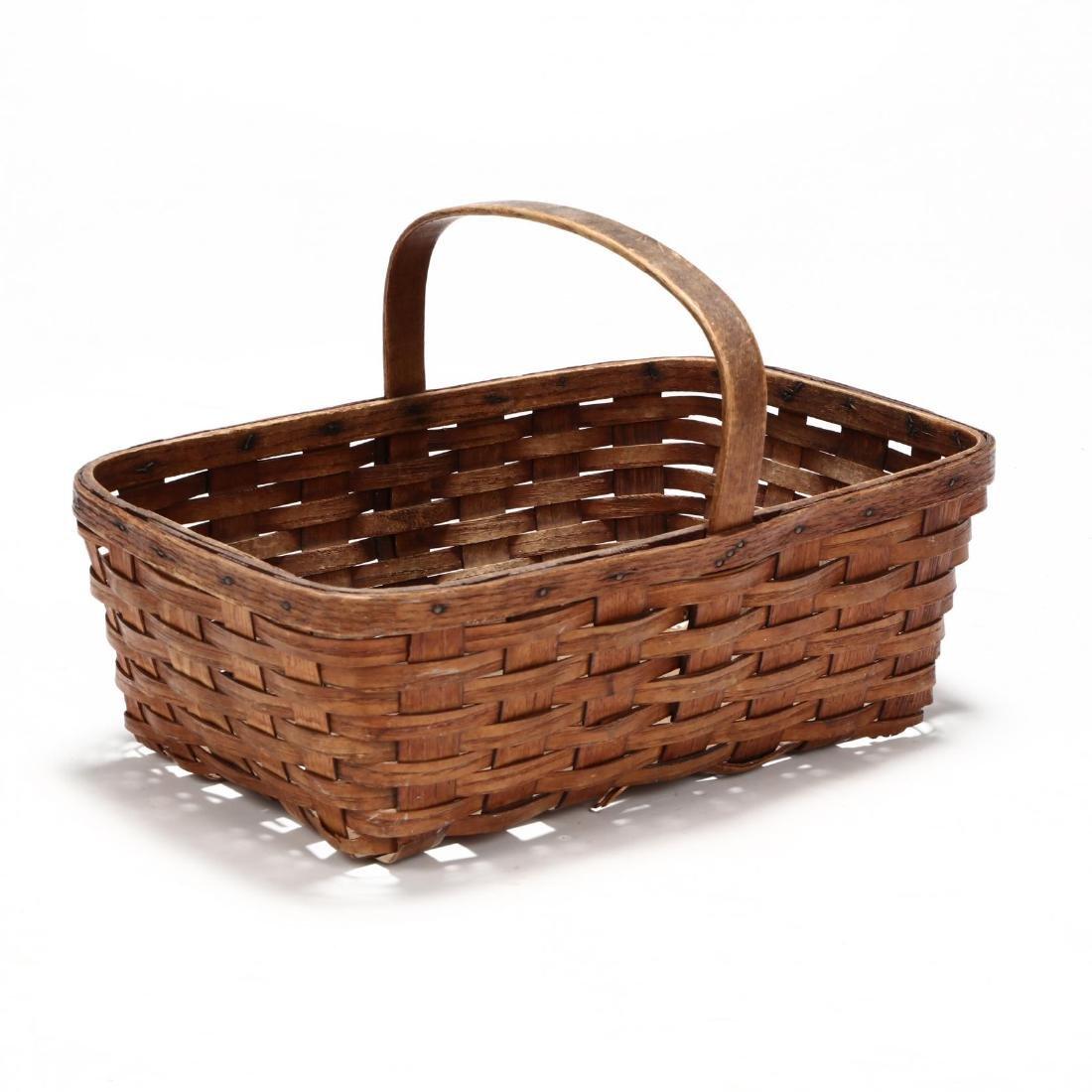 Antique Mushroom Hunting Basket