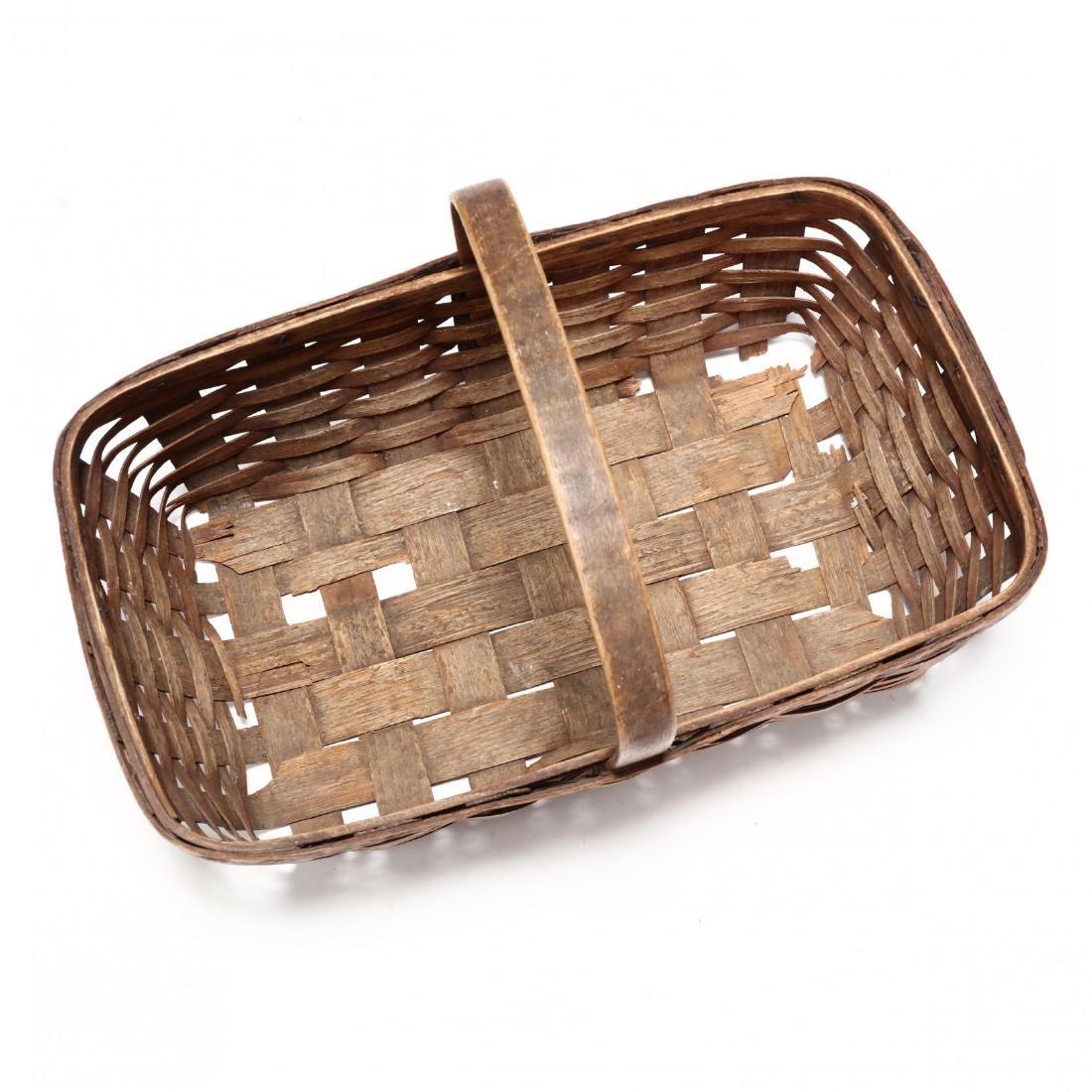 Antique Mushroom Hunting Basket - 2