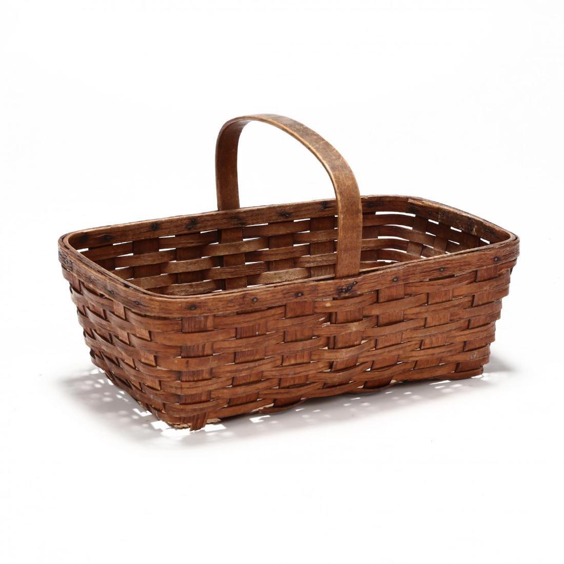Antique Mushroom Hunting Basket - 3