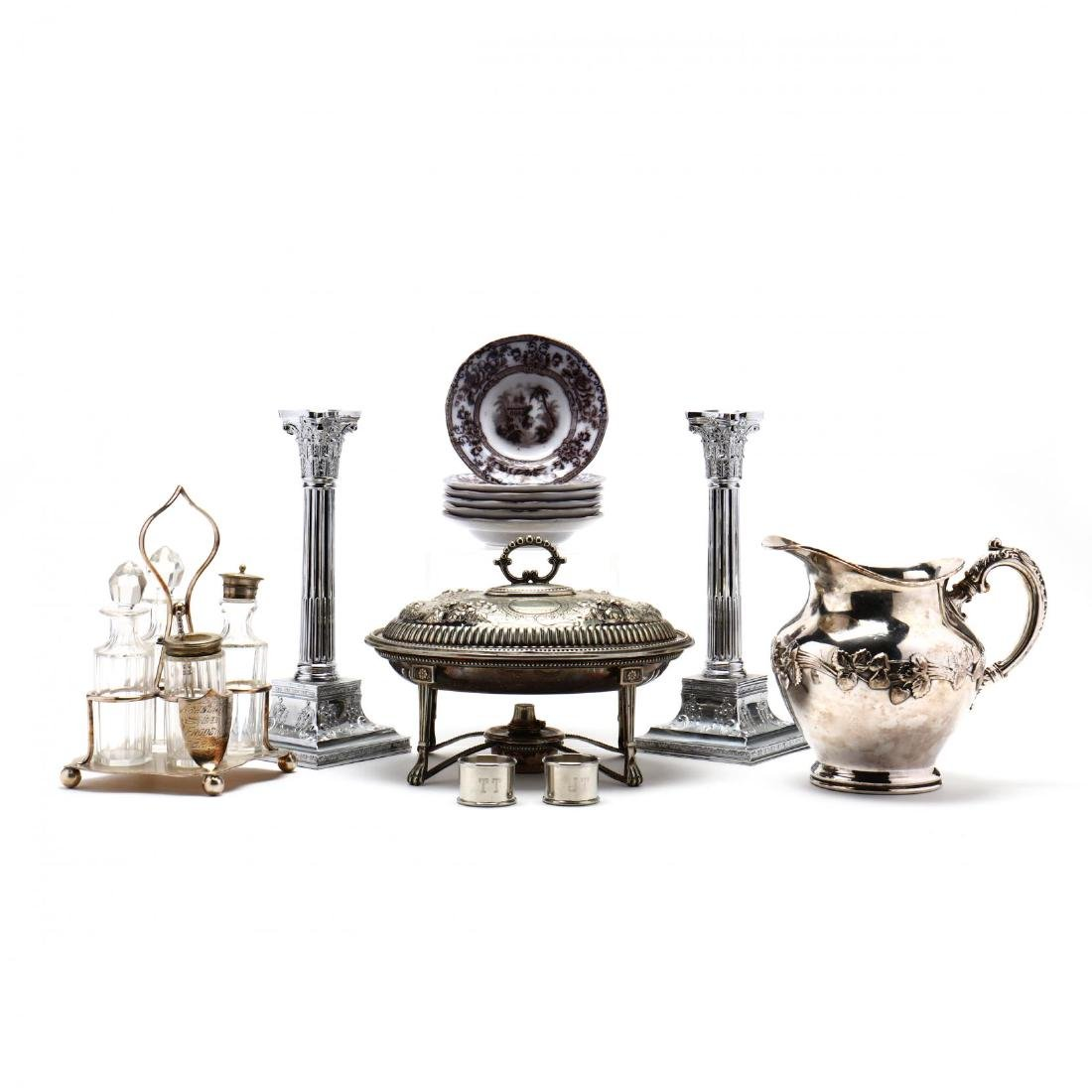 Antique Tableware Grouping