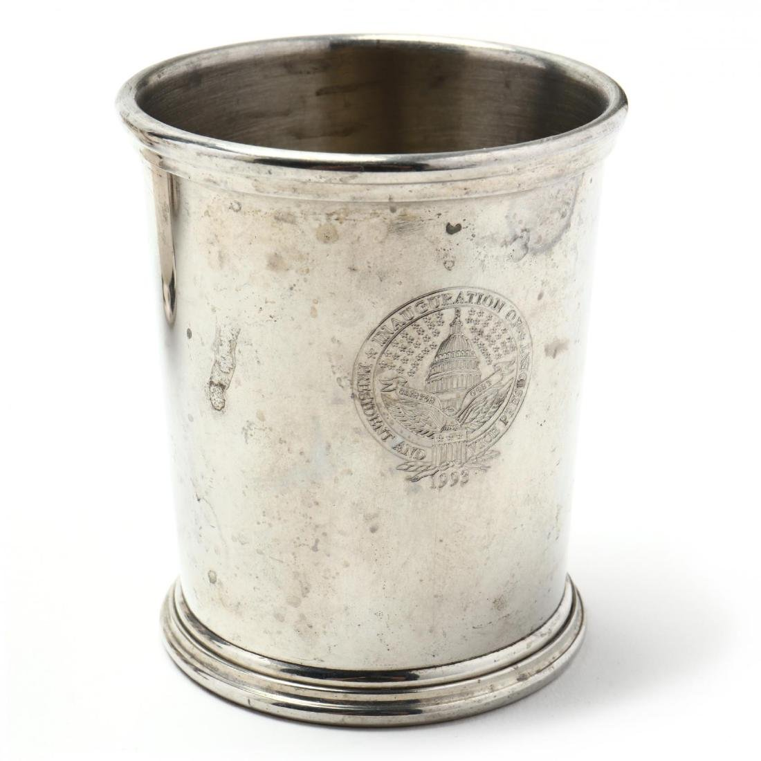 Eight Silverplate and Pewter Mint Juleps - 3