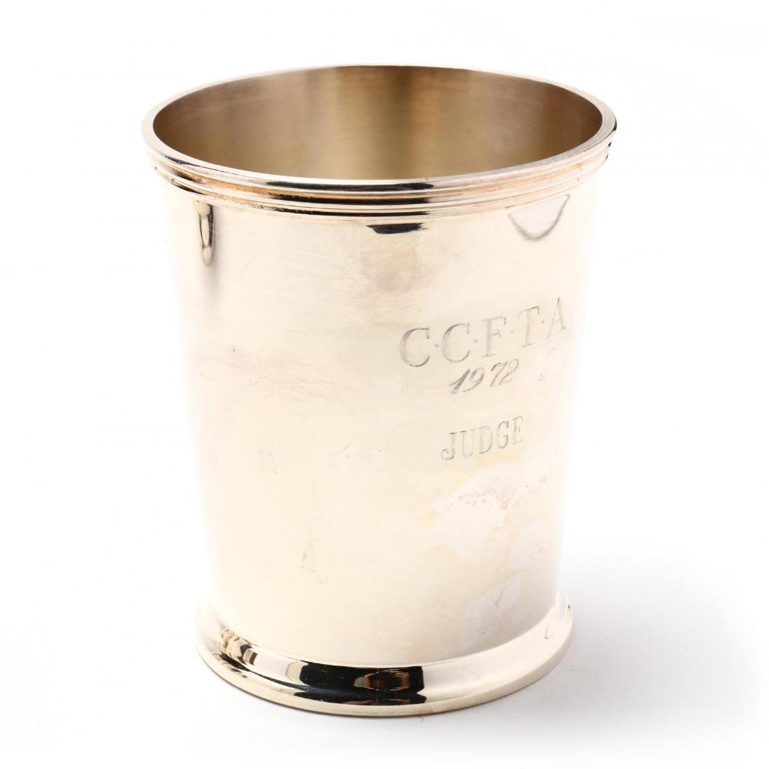 Eight Silverplate and Pewter Mint Juleps - 4