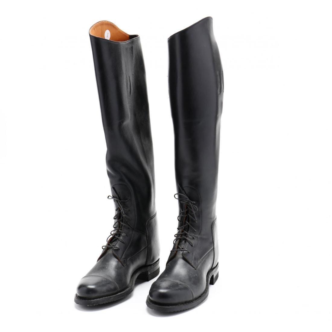 Pair of Ladies Custom Dehner's Equestrian Boots