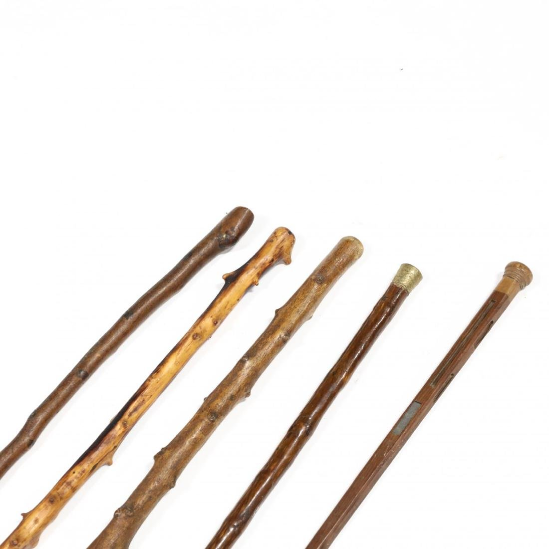 Five Vintage Walking Sticks - 2