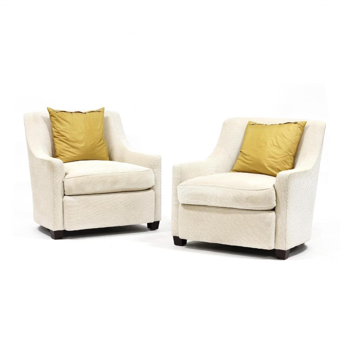 Barbara Barry for Baker, Pair of Tub Chairs