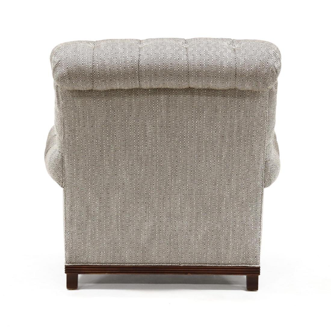 Baker, Overupholstered Library Chair - 3