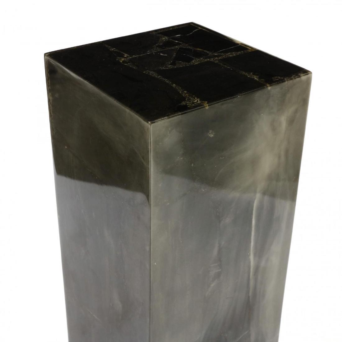 Modernist Stone Veneered Pedestal - 2