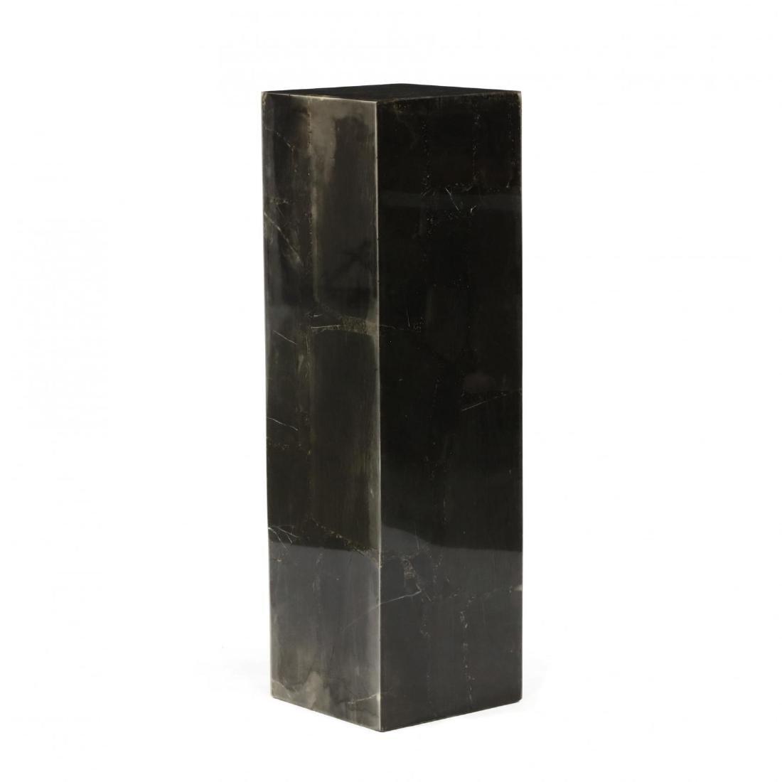 Modernist Stone Veneered Pedestal - 3