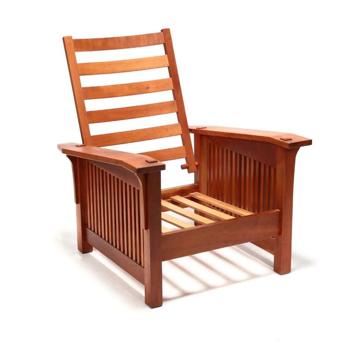 William Laberge (VT), Mission Style Lounge Chair - 2
