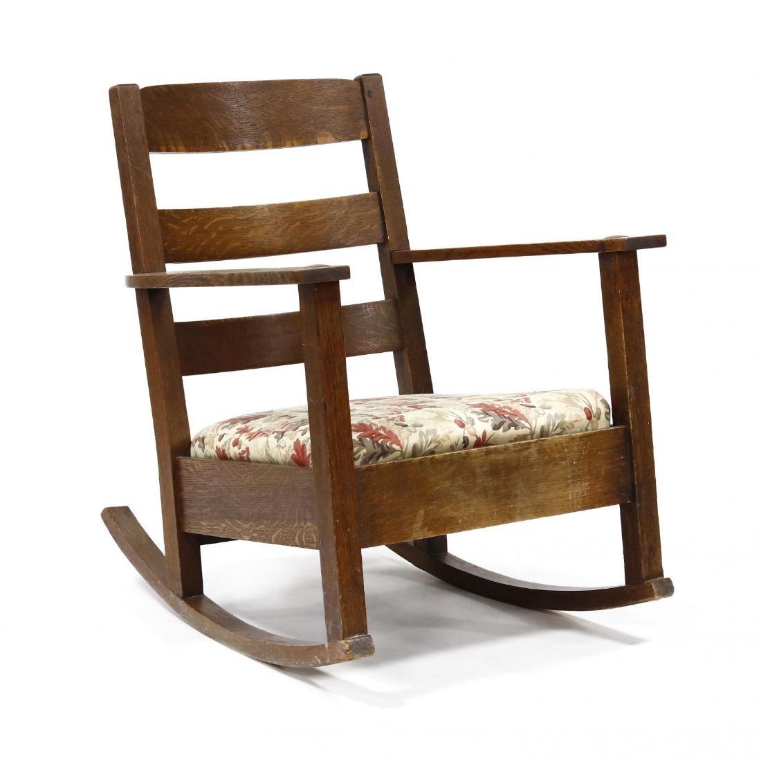 Limbert, Mission Oak Rocking Chair