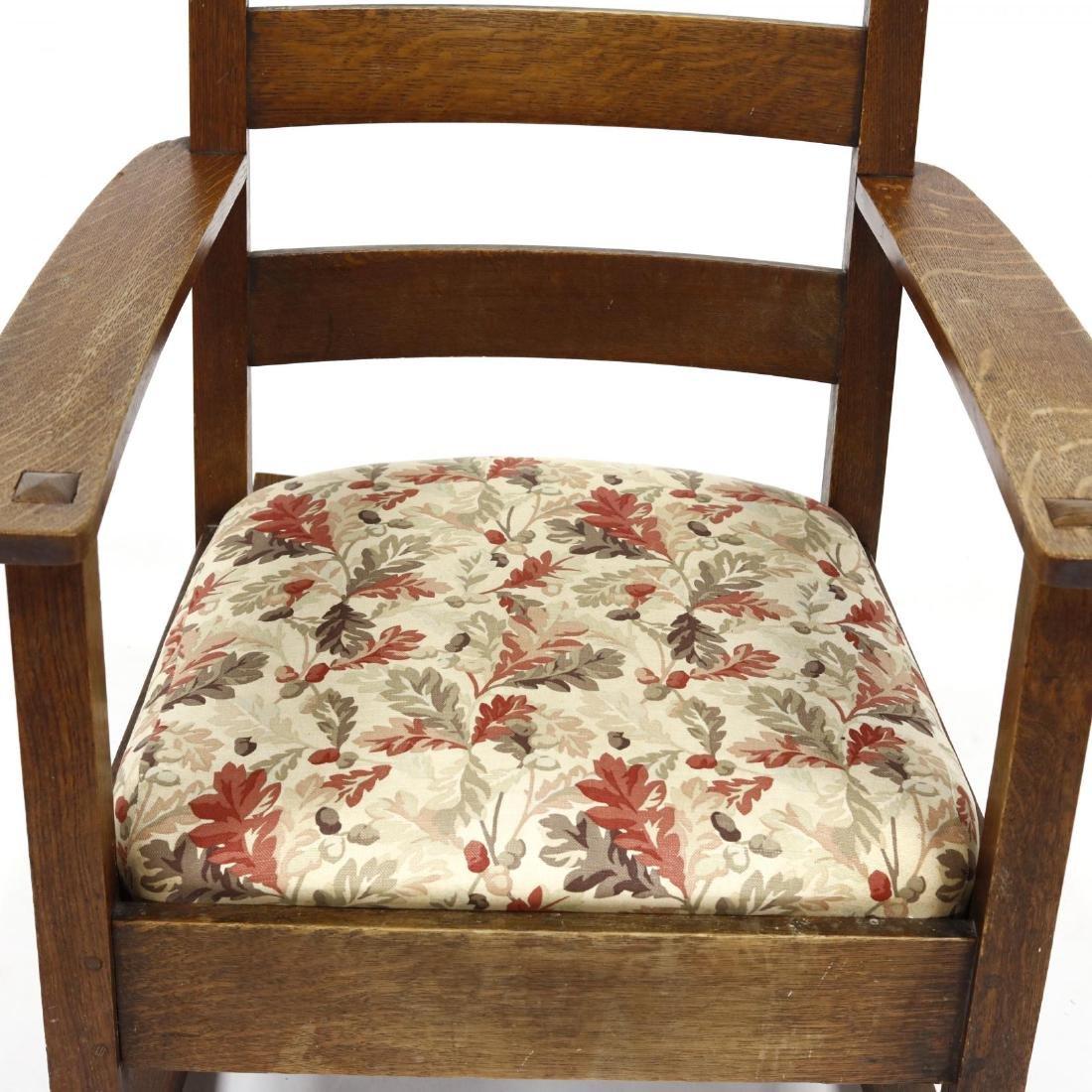 Limbert, Mission Oak Rocking Chair - 2