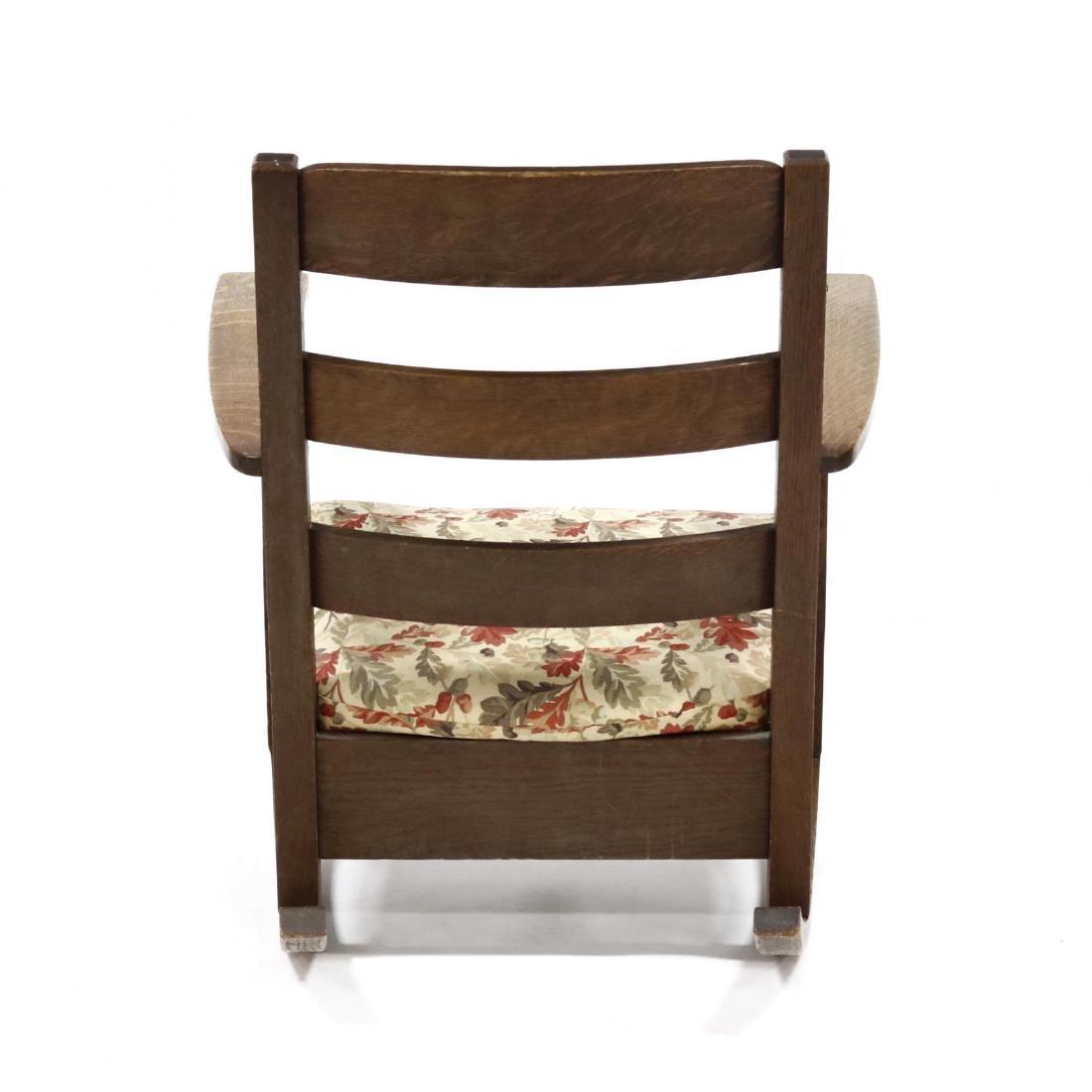 Limbert, Mission Oak Rocking Chair - 3