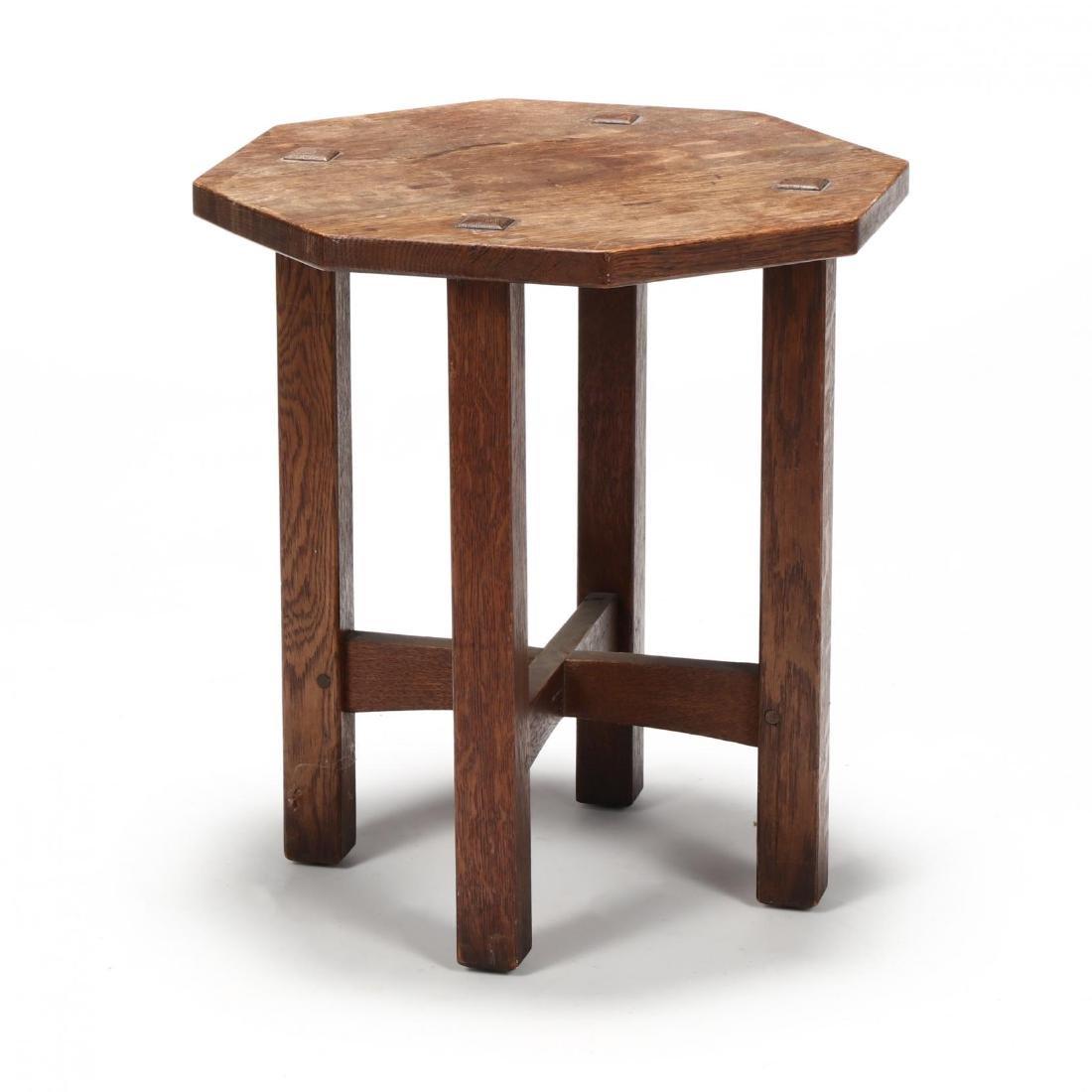 L. J. G. Stickley, Misson Oak Low Table