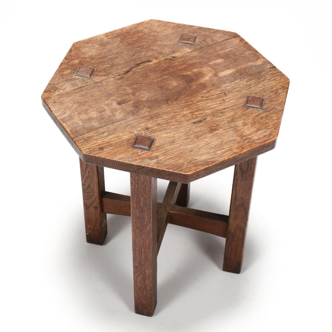 L. J. G. Stickley, Misson Oak Low Table - 2