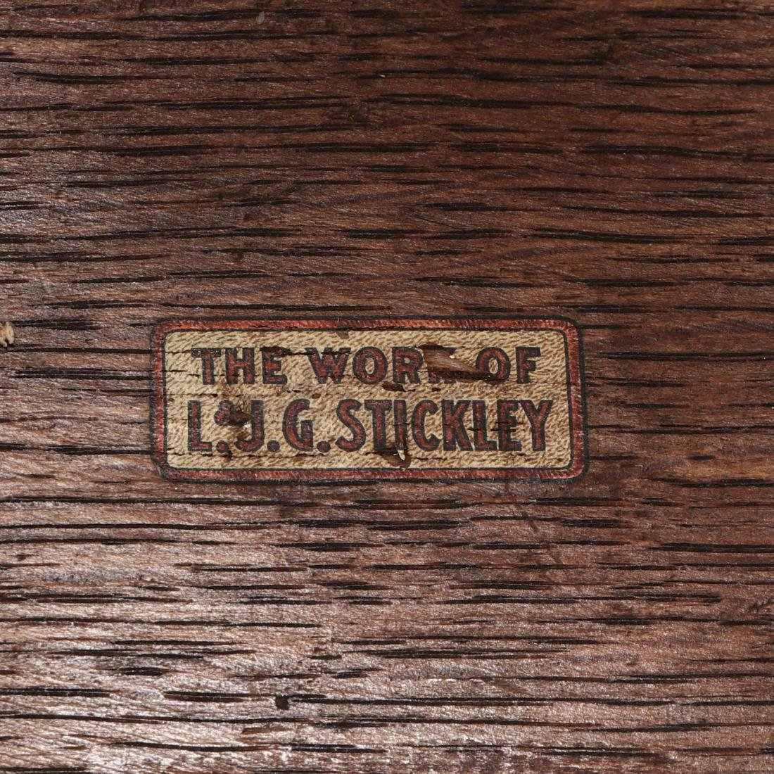 L. J. G. Stickley, Misson Oak Low Table - 3