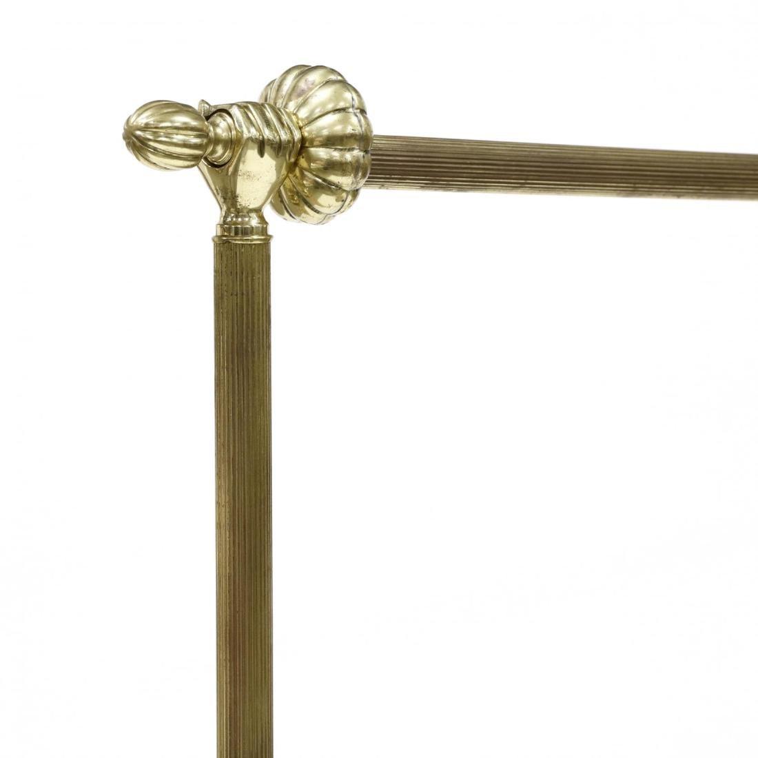Vintage Brass Clothing Rack - 3