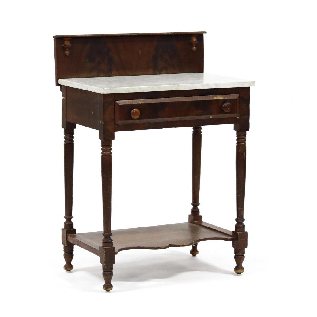 American Classical Marble Top Wash Stand