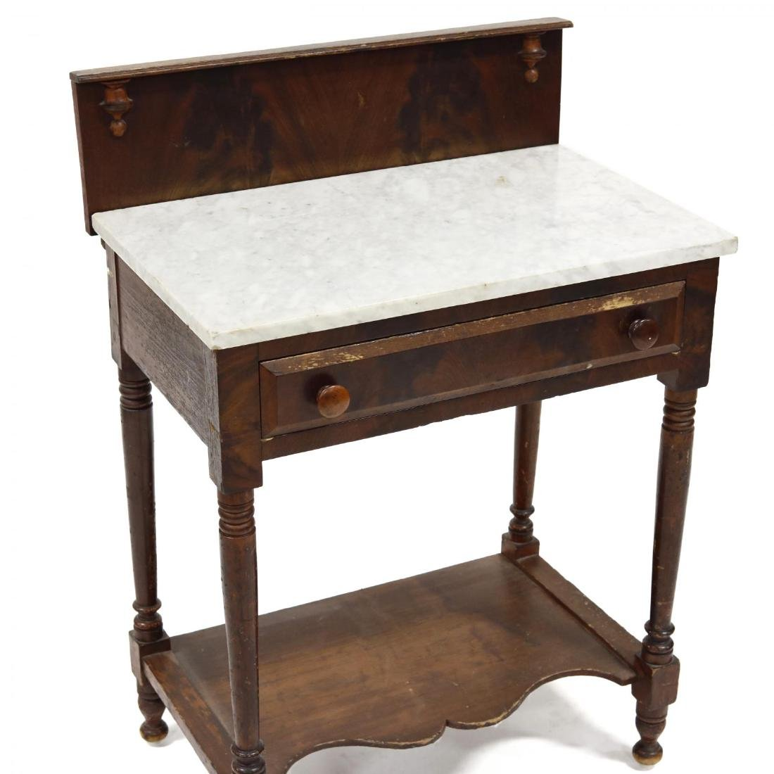 American Classical Marble Top Wash Stand - 2