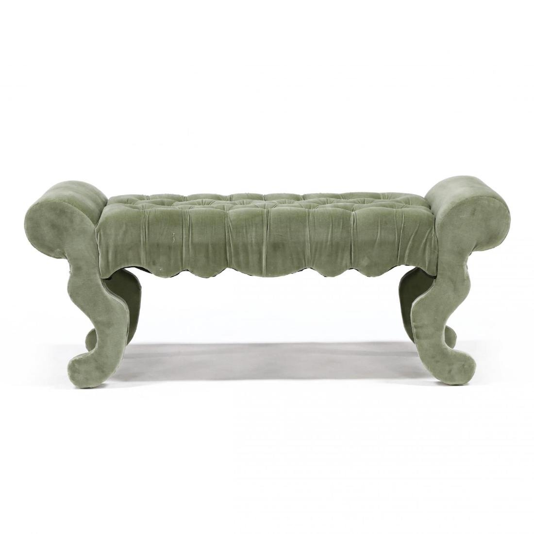 Contemporary Over Upholstered Bench - 3