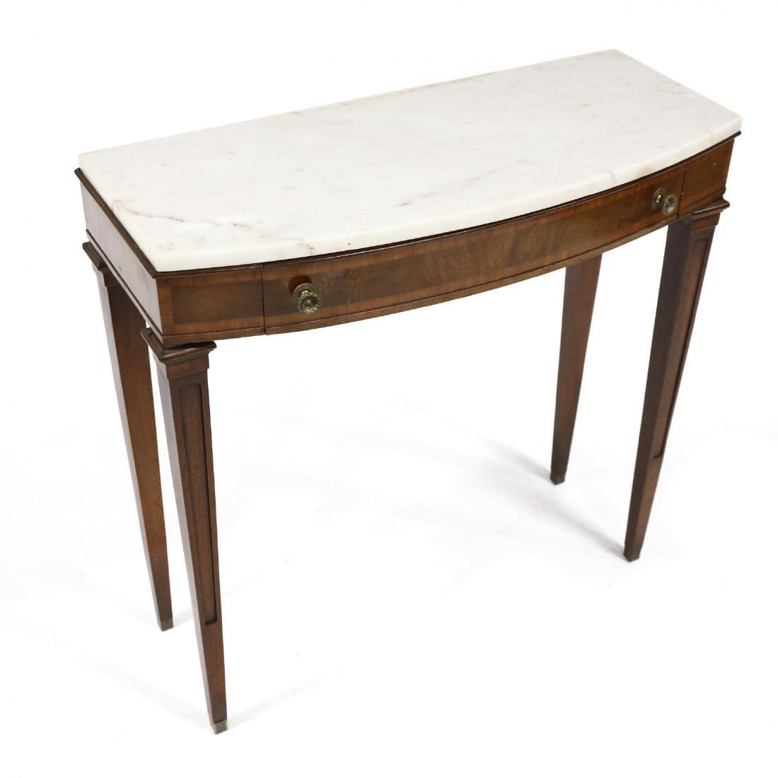 J. B. Van Sciver, Regency Style Marble Top Diminutive - 2