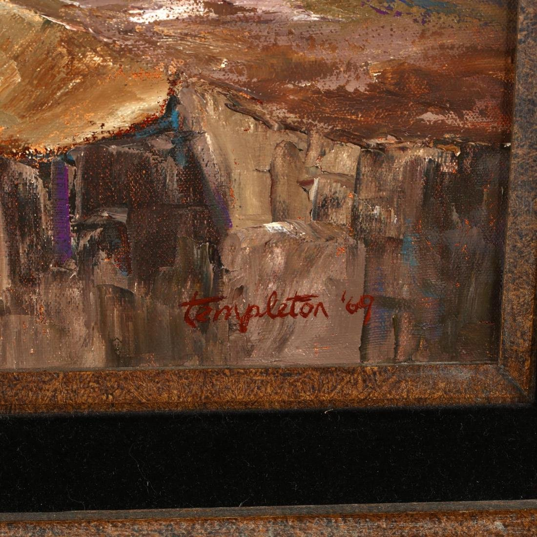 California Landscape Painting  Cliff Dwellers - 2
