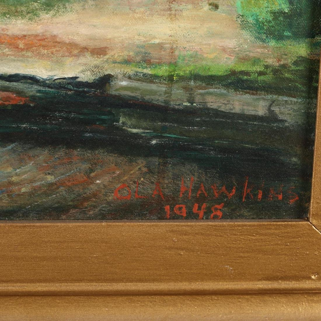 Ola Hawkins (VA, 20th Century),  An Old Place - 2