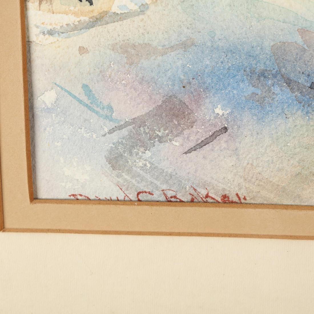 David Curtis Baker (NH/MA, 1915-1999), Mountainscape - 2