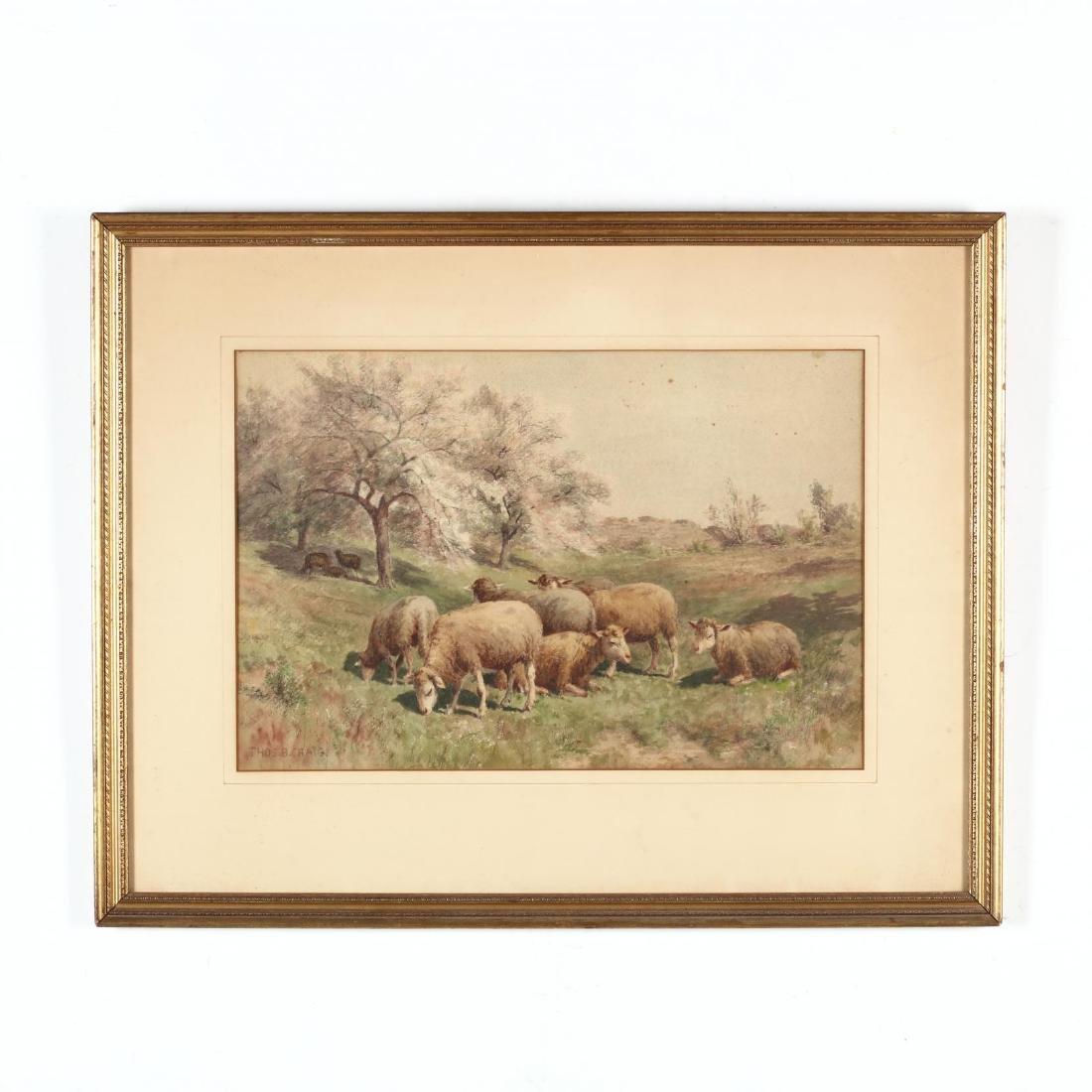 Thomas Bigelow Craig (PA, 1849-1924), Sheep Grazing
