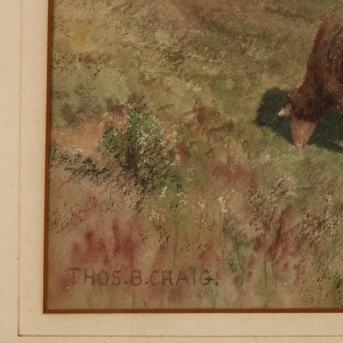 Thomas Bigelow Craig (PA, 1849-1924), Sheep Grazing - 2
