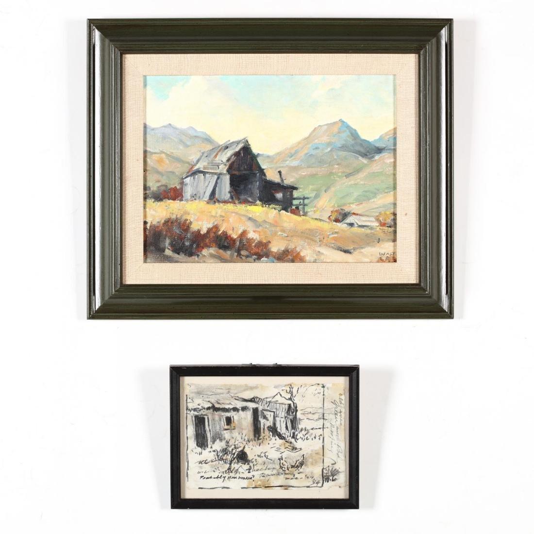 Walt Lee (California, 1888-1980), Two Works