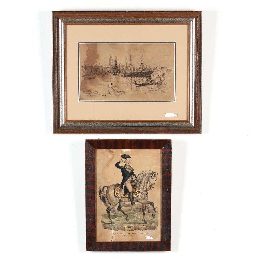 Two Antique Prints