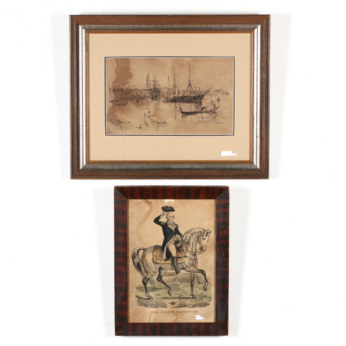 Two Antique Prints