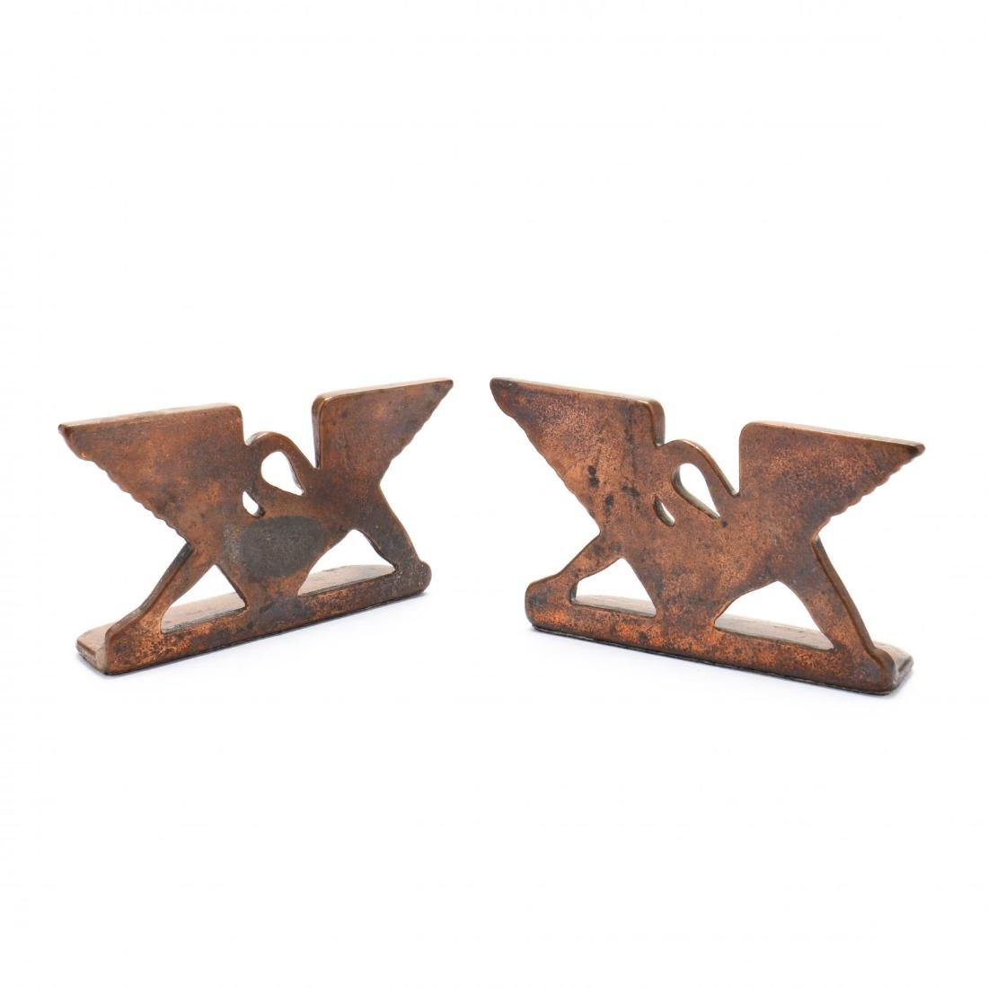 A Pair of Art Deco Bookends - 2