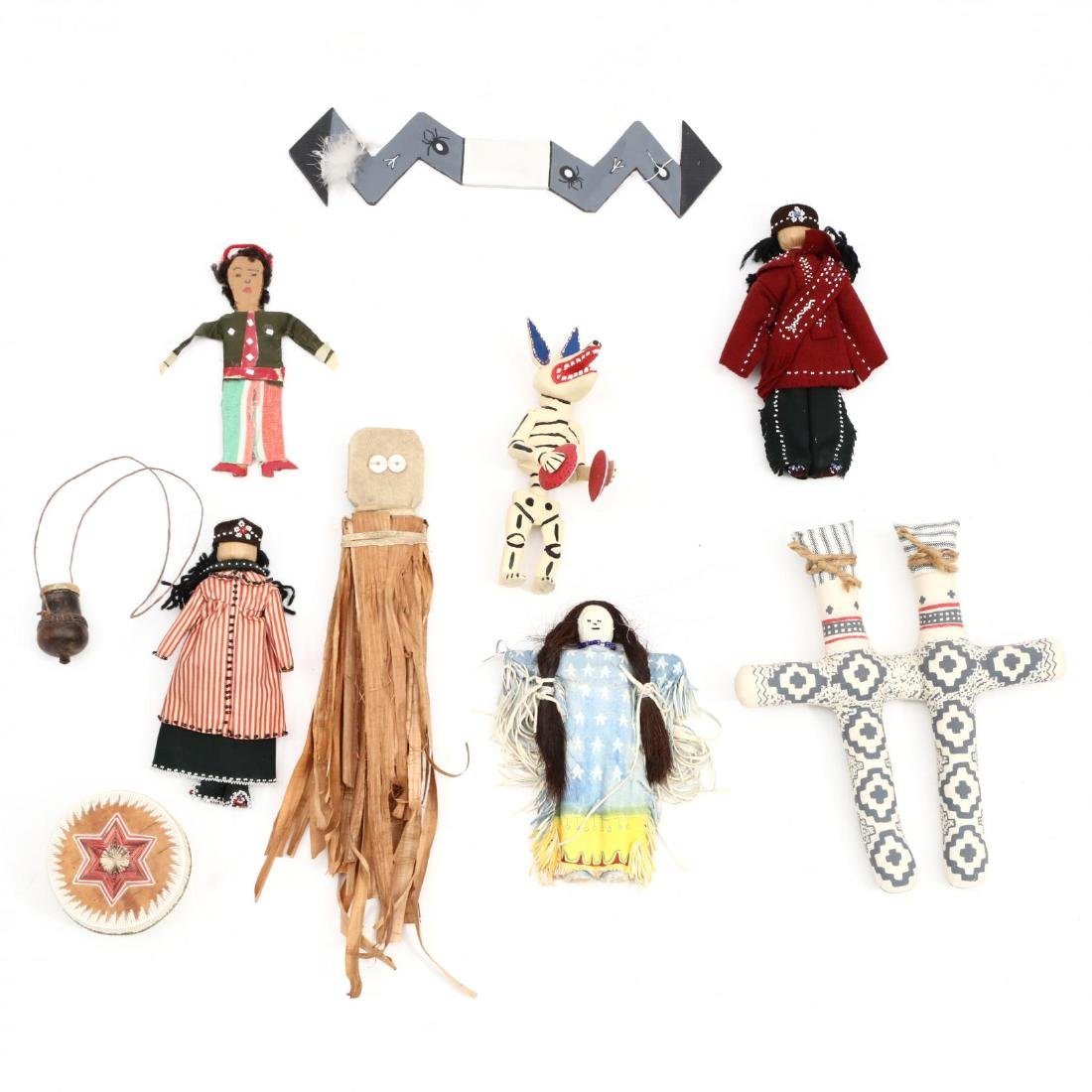 A Group of Ethnic Souvenir Items