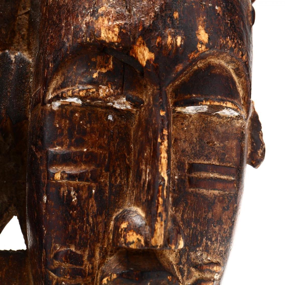 Baule Double-Face Mask,  Côte d'Ivoire  (Ivory Coast) - 2