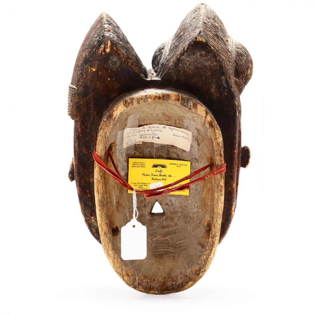 Baule Double-Face Mask,  Côte d'Ivoire  (Ivory Coast) - 3