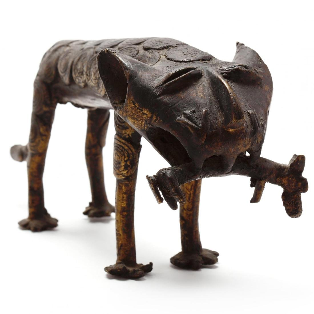 A Group of African Bronze Animals - 4