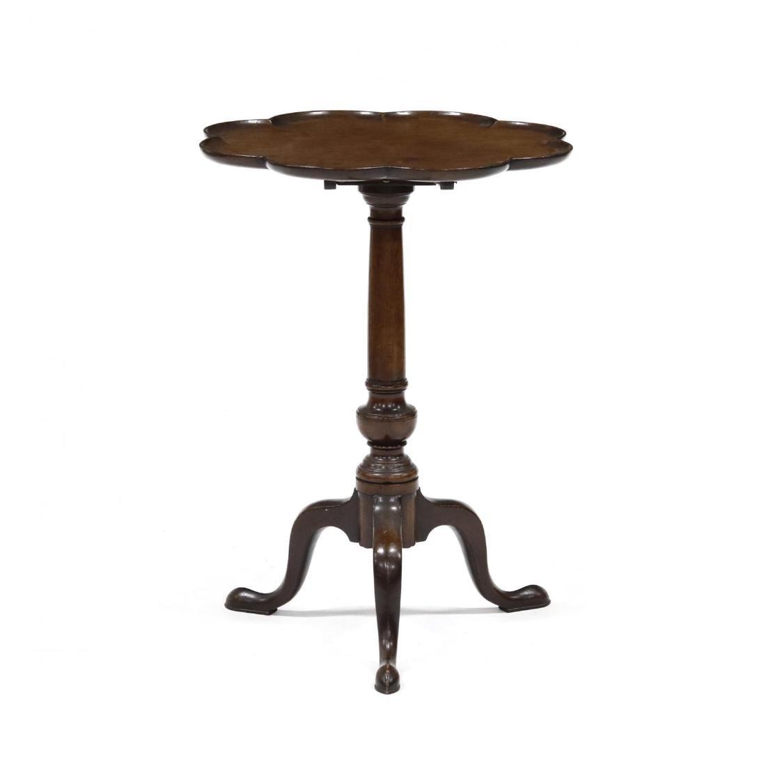 Queen Anne Mahogany Tilt Top Candlestand