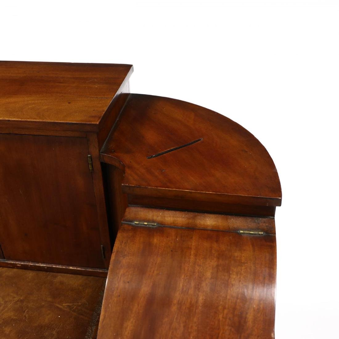 Edwardian Mahogany Carlton House Desk - 3