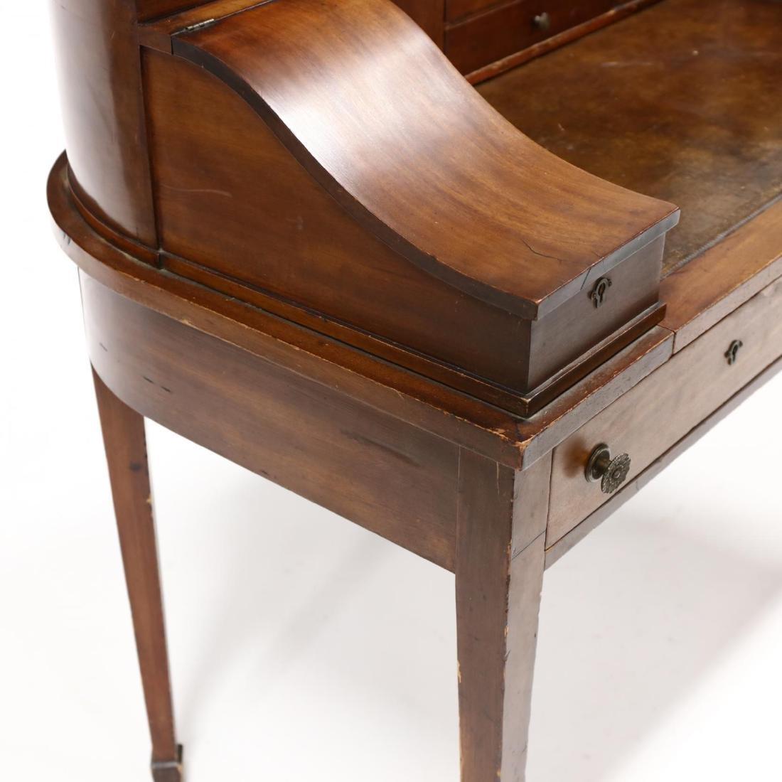 Edwardian Mahogany Carlton House Desk - 4