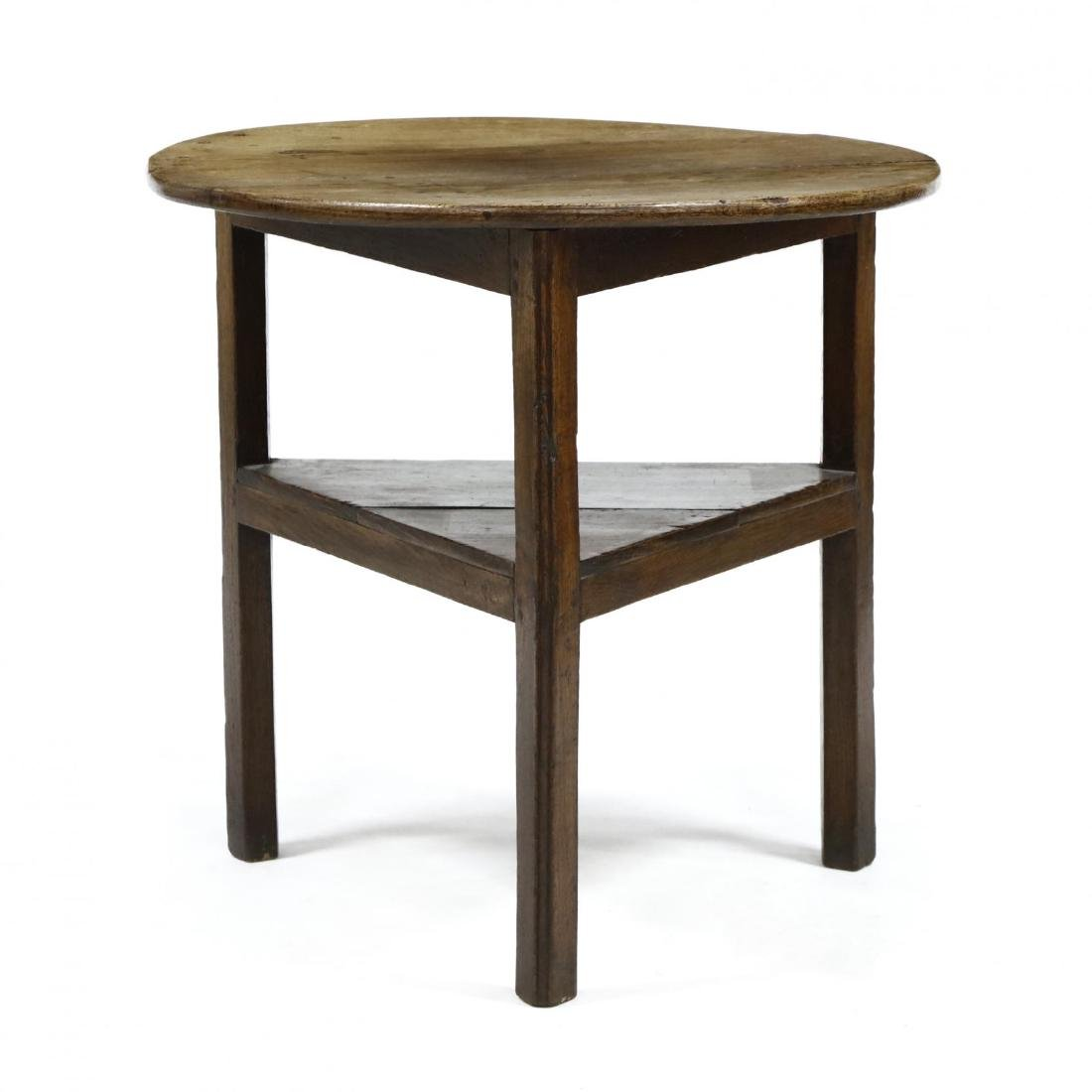 Antique English Cricket Table