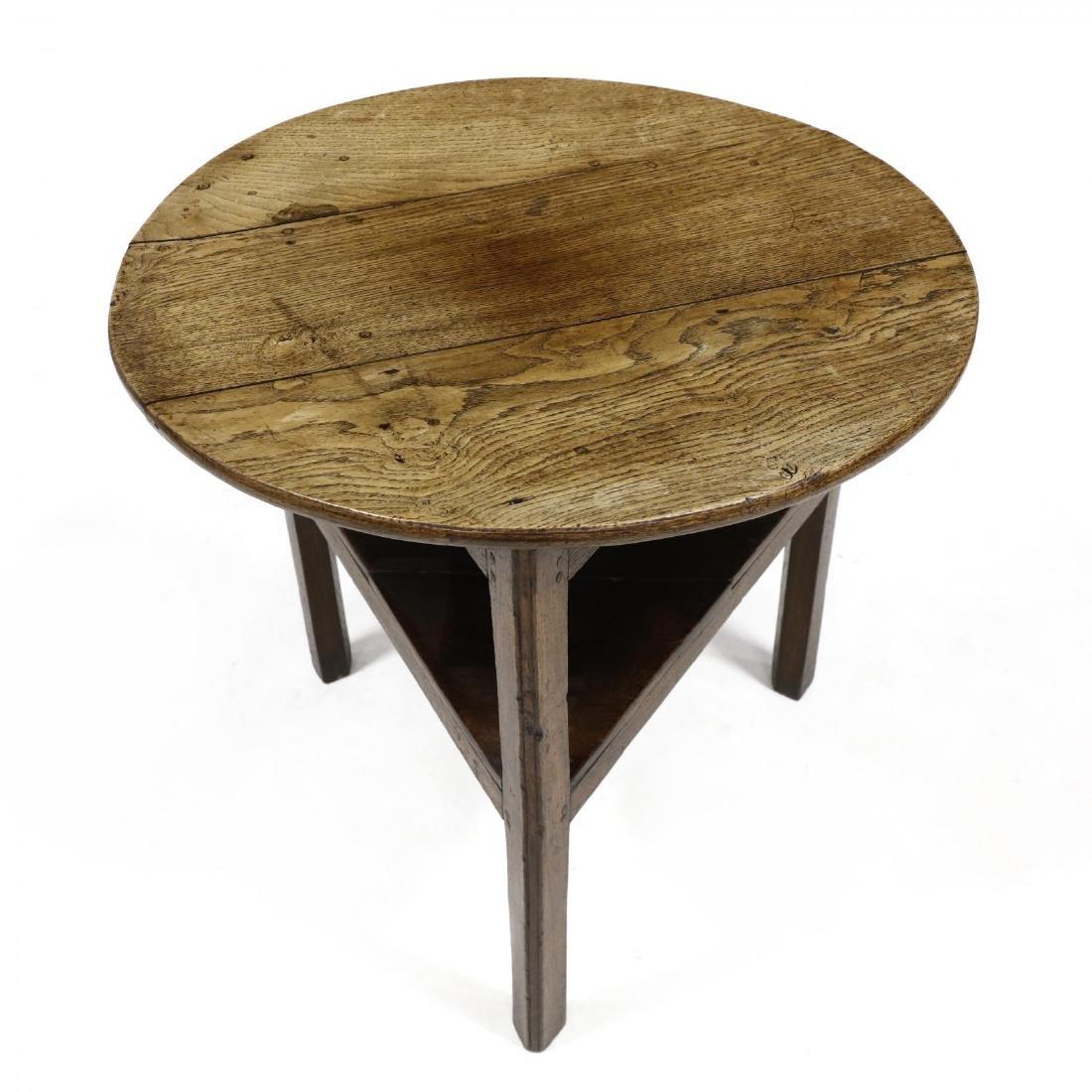 Antique English Cricket Table - 2